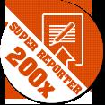 Gratulacje! Dodałeś 200 materiałów w serwisie Kontakt 24